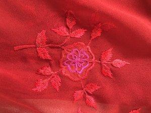 Accessorize Bufanda de flecos rojo oscuro-rosa
