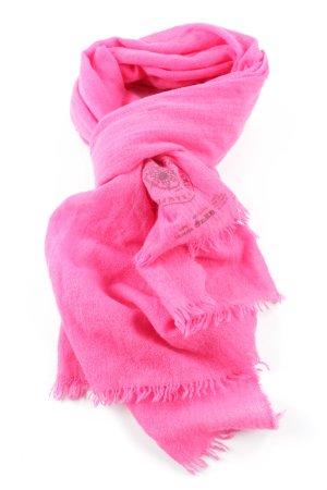 Fransenschal pink Casual-Look