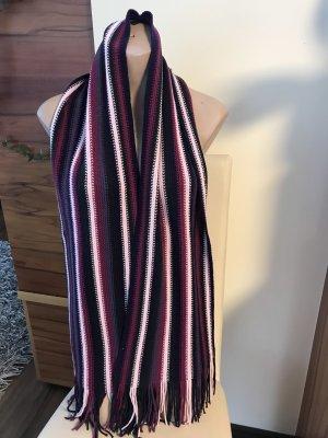Tom Tailor Écharpe à franges violet-rosé