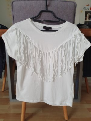 Atmosphere T-shirt blanc coton
