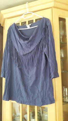 b.p.c.fashion Camisa con cuello caído púrpura