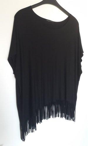 Yessica Oversized Shirt black viscose