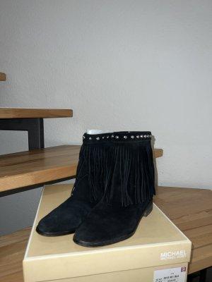 Michael Kors Wciągane buty za kostkę czarny