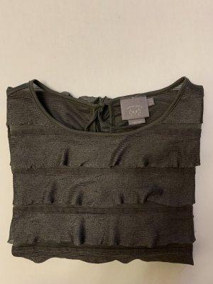 Franzen Shirt, Franzen Bluse, Khaki, Feder Bluse, Anthropologie Vanessa Virina