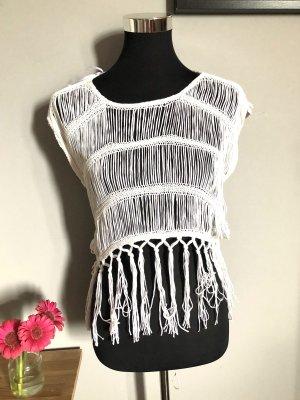 Miss Sixty Haut en crochet blanc