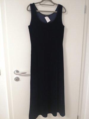 FRAPP Damen Abendkleid, samtlook, dunkelblau, Gr. 36