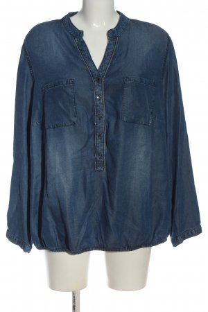 Frapp Jeansbluse blau Casual-Look