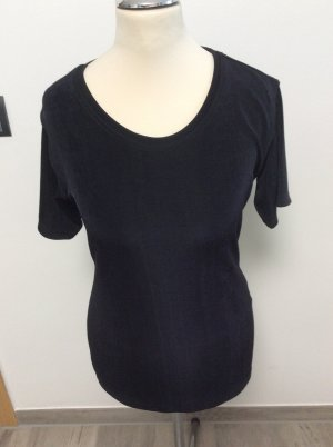 Frapp schimmerndes Stretchiges Shirt Gr 36 schwarz