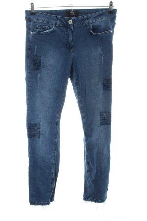 Frapp Straight-Leg Jeans blau Casual-Look