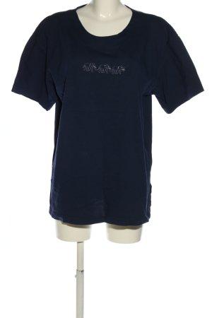Frapp T-Shirt blau Casual-Look