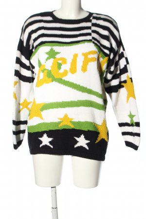 Frapp Christmasjumper allover print casual look