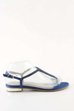 fratelli karida Sandalo toe-post blu stile casual