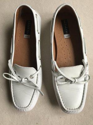Fratelli Rosetti Loafers aus weißem Leder