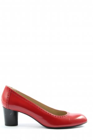 Fratelli rossetti Hochfront-Pumps rot Casual-Look