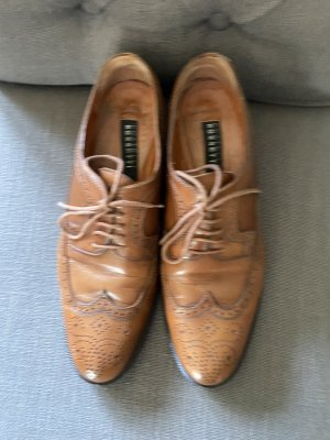 Fratelli rossetti Wingtip Shoes bronze-colored