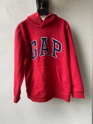 Gap Koszulka z kapturem czerwony