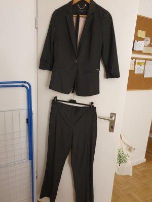 Orsay Pantalone da abito grigio Viscosa