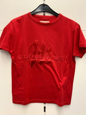 Mustang T-shirt rosso