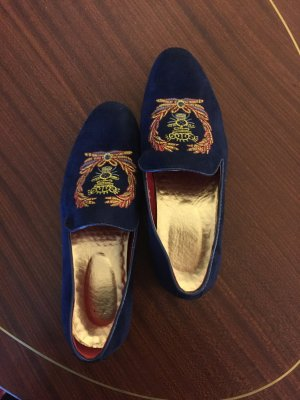 Slip-on Shoes dark blue