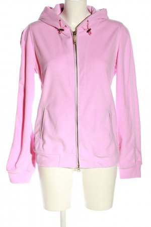 Frauenschuh Fleecejacke pink Casual-Look