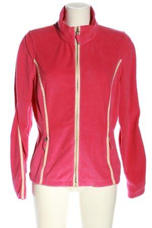 Frauenschuh Fleecejacke pink Casual-Look