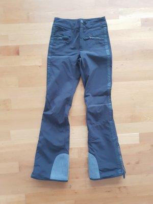 Frauenschuh Pantalón de esquí negro-gris oscuro Poliuretano