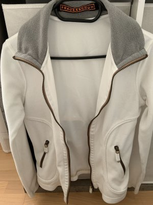 Frauenschuh Fleece Vest white-light grey