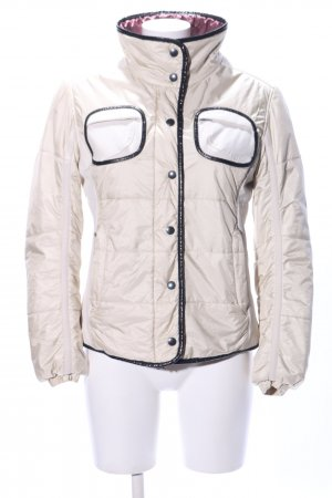 Frauenschuh Winterjacke creme Steppmuster Casual-Look