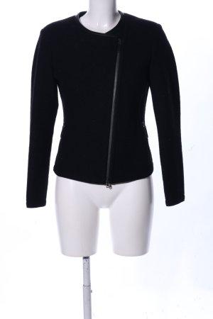 Frauenschuh Chaqueta de lana negro look casual