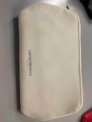 Emporio Armani Pouch Bag white
