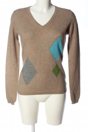 frc cashmere Cashmerepullover grafisches Muster Casual-Look