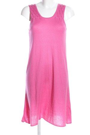 frc cashmere Strickkleid pink Casual-Look