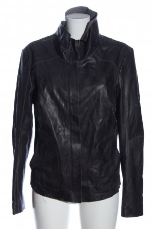 Freaky Nation Kunstlederjacke schwarz Casual-Look
