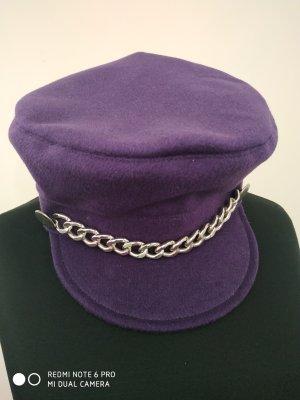 Unikat Einzelstück Visor Cap multicolored cashmere