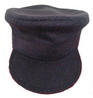 Unikat Cappello con visiera multicolore Cachemire