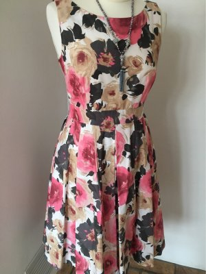 H&M Sukienka z halką Wielokolorowy