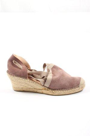 Fred de la bretoniere Espadrille Sandals pink-natural white casual look