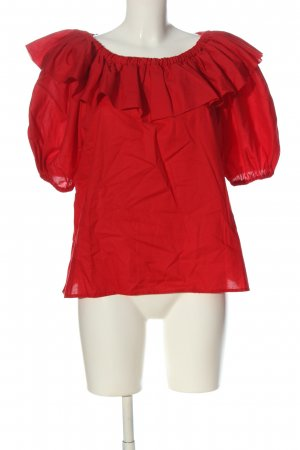 Fred Perry Carmen-Bluse rot Casual-Look