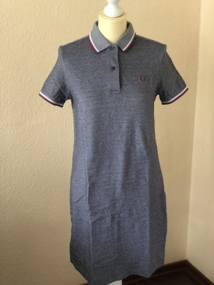 Fred Perry Polo Dress slate-gray