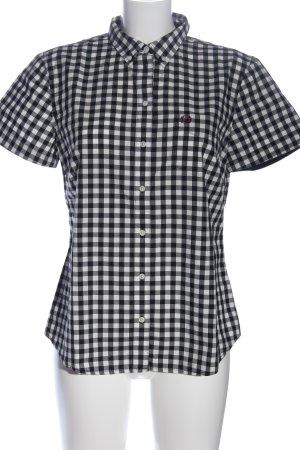 Fred Perry Holzfällerhemd schwarz-weiß Karomuster Casual-Look