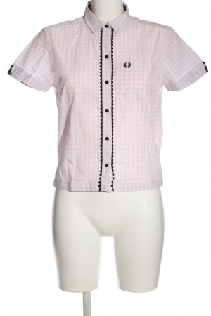 Fred Perry Short Sleeve Shirt check pattern casual look
