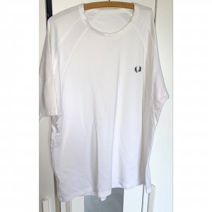 Fred Perry Oversized Shirt White Black