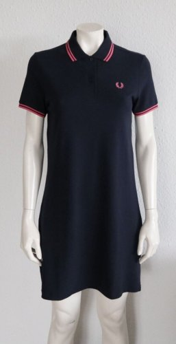 Fred Perry Polo Dress dark blue-pink