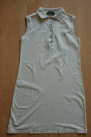 Fred Perry, Polo Kleid, Weiß, A Form, Gr L, Piqué