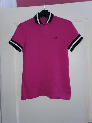 Fred Perry Koszulka polo czarny-fioletowy
