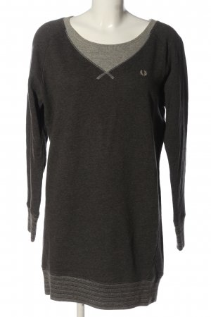 Fred Perry Sweat Dress light grey flecked casual look