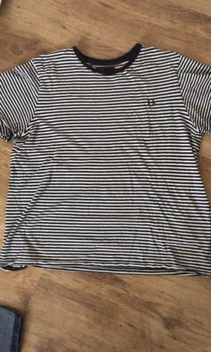 Fred Perry T-shirt bianco-nero