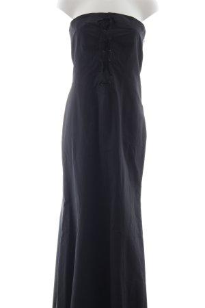 Fred Sun Sukienka gorsetowa czarny Prosty styl