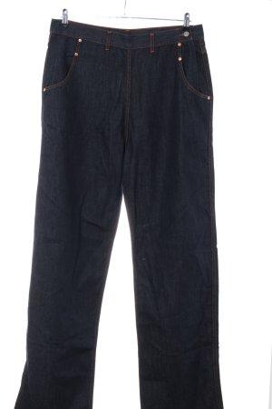 Freddies of Pinewood Jeans coupe-droite bleu style décontracté