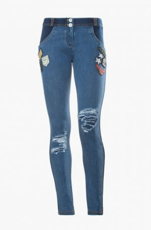 Freddy Boot Cut Jeans slate-gray-steel blue